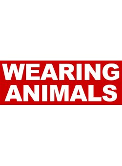 Wearing Animals Aufkleber