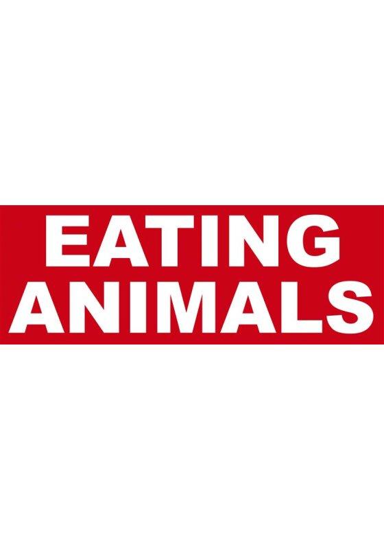 Eating Animals Aufkleber