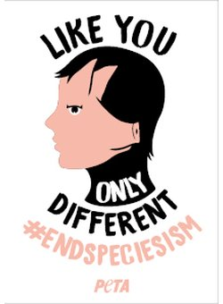 Like you only different #endspeciecism Sticker