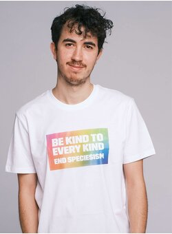 Be Kind To Every Kind T-Shirt Unisex white