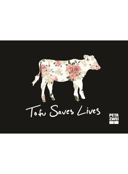Tofu saves lives Sticker