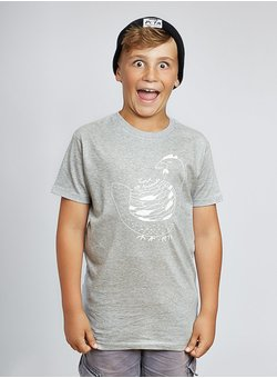 Love all Animals, Huhn - Kids - grau T-Shirt