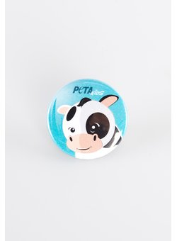 Button PETA Kids Kuh
