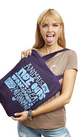 PETA-Statement-Einkaufstasche-violet
